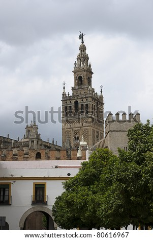 Giralda in Sevilla, Spain