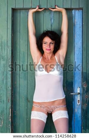 girl - stock photo