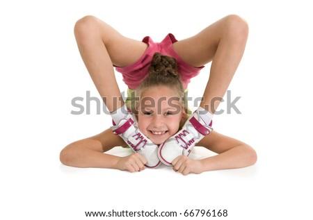 Gymnastics flexible Stock Photos, Gymnastics flexible ...
