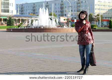 girl on the square