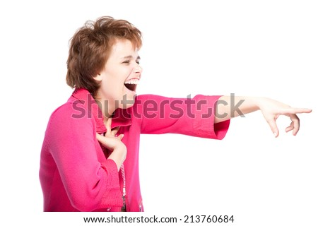 teen pointing laughing stock images royaltyfree images