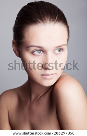 girl portrait - stock photo