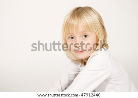 Girl portrait - stock photo