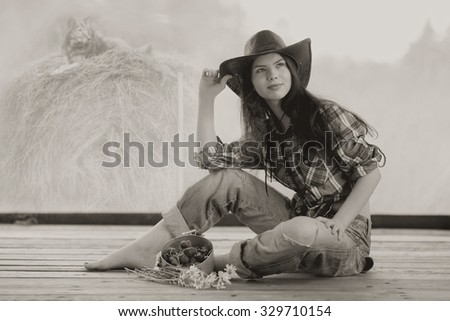 girl style Wild West