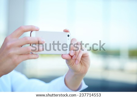 girl with the phone