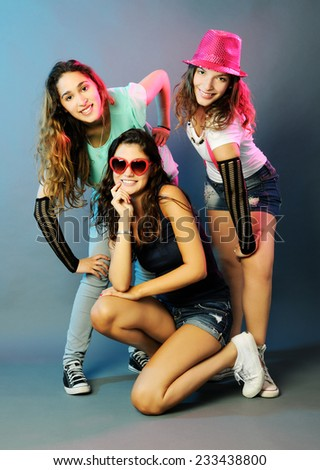 girls - stock photo