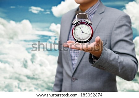 Give me more time concept - stock photo