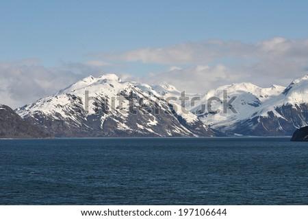 Glacier Bay, Alaska Scenic Cruise  - stock photo