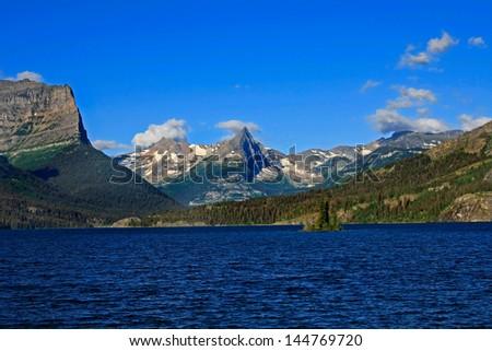 Glacier National Park, Montana - stock photo