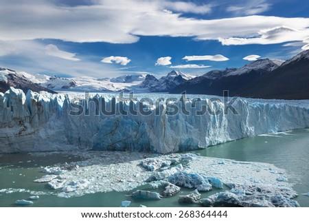 Glacier Perito Moreno, Patagonia, Argentina - stock photo