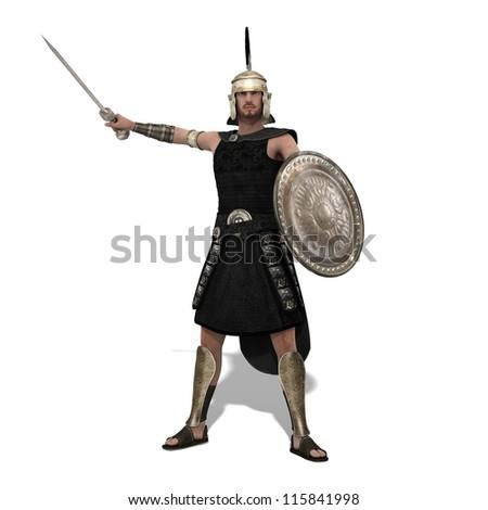 gladiator - stock photo