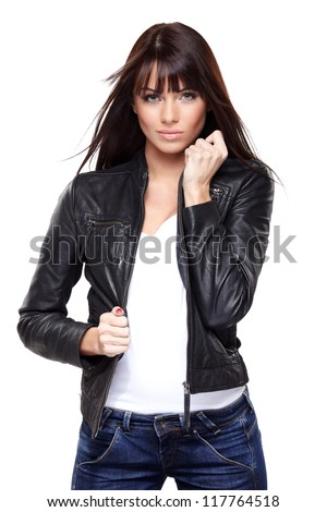 Leather Jacket Stock Images Royalty-Free Images &amp Vectors
