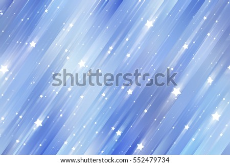 Glamour abstract background blue illustration with glitter.