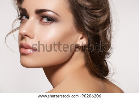 Beautiful Stock Images Glamour portrait of beautiful