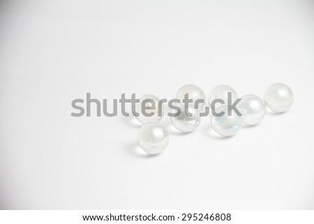 Glass balls - stock photo