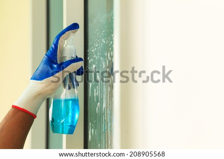 Glass cleaning