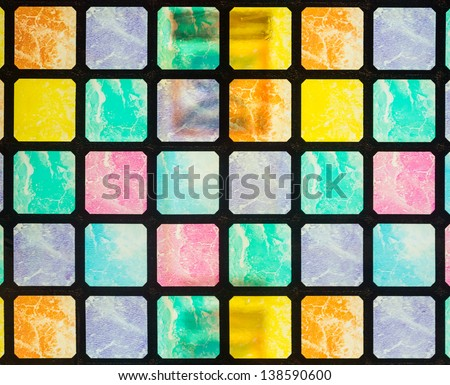 glass colorful - stock photo