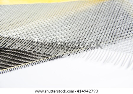 glass fiber background - stock photo