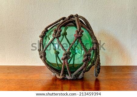 Glass, float ball  - stock photo