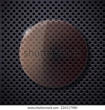 glass frame on a wooden surface  - stock photo