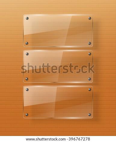 Glass framework Glass shield Jpeg version - stock photo