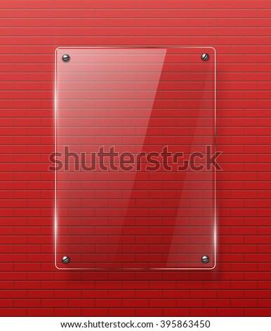 Glass framework Jpeg version - stock photo
