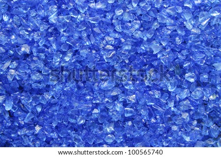 glass granules texture - stock photo
