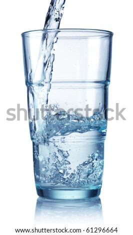 glass isolated on a white background