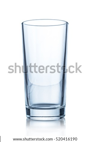 Glass isolated on white background