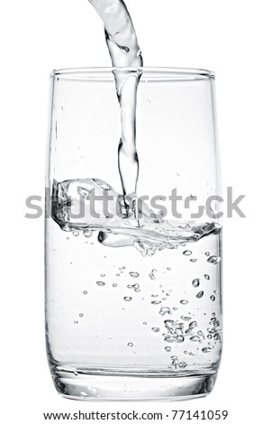 glass of cold water