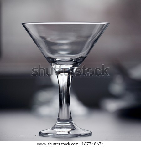 glass of martini - stock photo