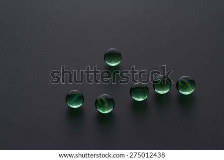 glass sphere - stock photo