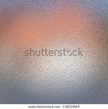 Glass surface - stock photo