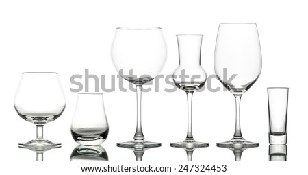 Glass tablet glasses for drinking