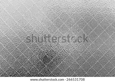 Glass texture background. - stock photo