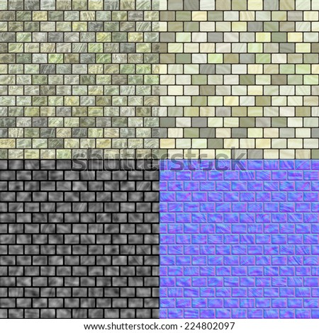 Bumpmap stock images royalty free images vectors for Floor normal map