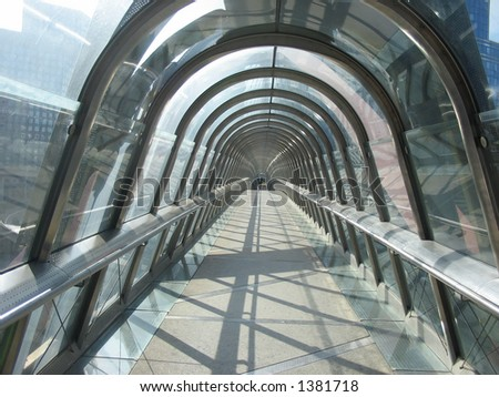glass tunnel