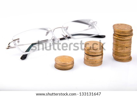 Glasses and money (money can not buy good eyesight)