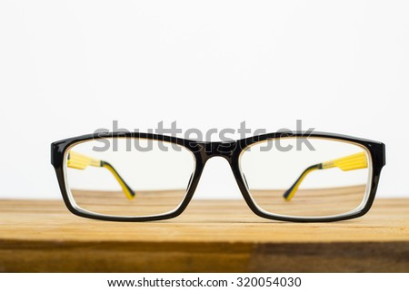 Glasses for your design and add your information.