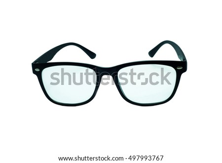 Glasses Isolated.