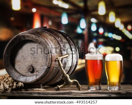 table craft beer barrel stock images royalty free images vectors shutterstock