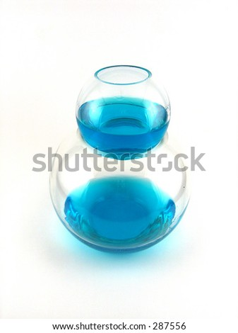 glasses of liquid