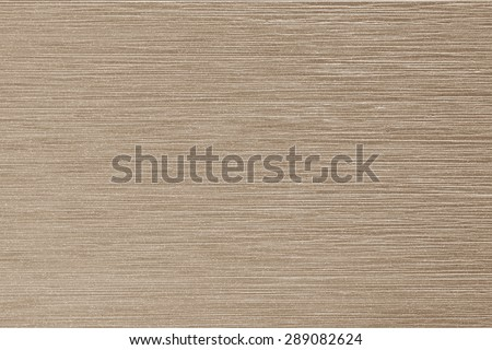 Glazed tile wall imitated wood grain texture background in dark cream brown color tone   - stock photo