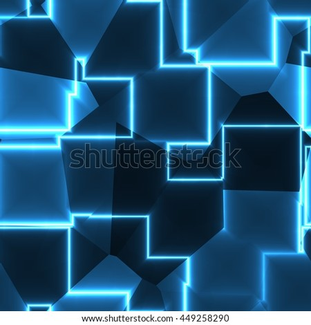 Gleaming abstract blue texture background