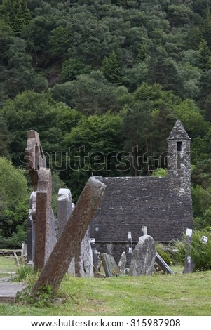 Glendalough - Irish monastery seven churches