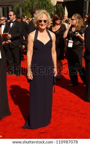 Glenn Close arriving at the 59th Annual Primetime Emmy Awards. The Shrine Auditorium, Los Angeles, CA. 09-16-07