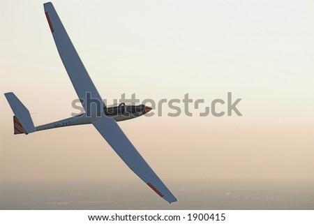 Glider - stock photo