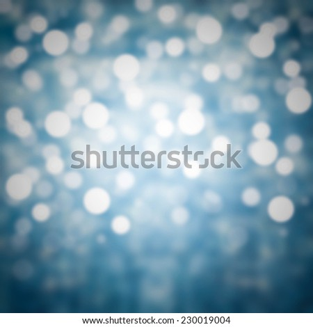 Glitter Abstract Festive background. Christmas and New Year feast bokeh background with copyspace. Twinkly Lights and Stars Christmas Background - stock photo