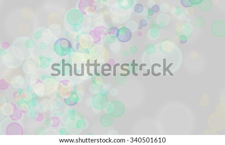 glitter bokeh lights background. soft rainbow color. defocused.  - stock photo