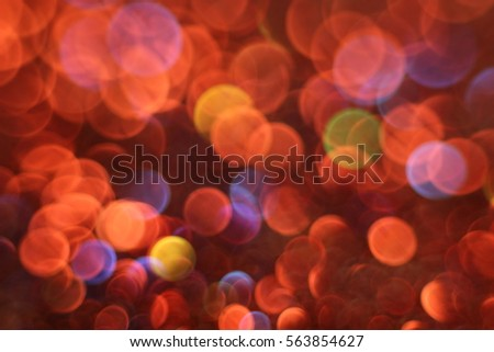 Glitter colored light texture abstract background.